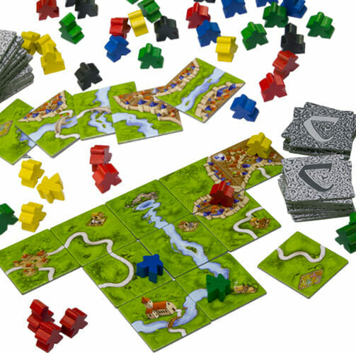 Carcassonne inc. River (Eng)