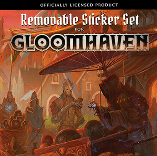 Gloomhaven – Removable Stickers
