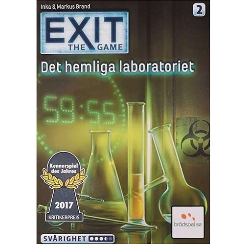 EXIT: The Game – Det Hemliga Laboratoriet