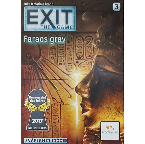 EXIT: The Game – Faraos grav