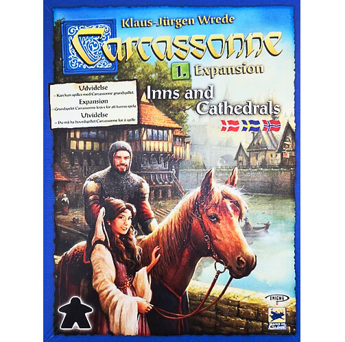 Carcassonne Expansion: Inns and Cathedrals