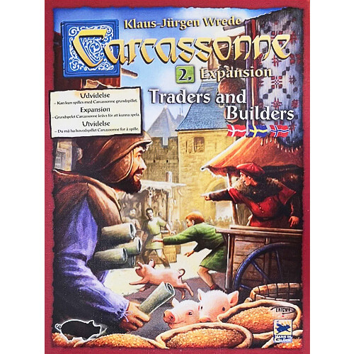Carcassonne Expansion: Traders and Builders